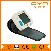 Home and hospital application WHO Ampel-Farbskala blood pressure monitor