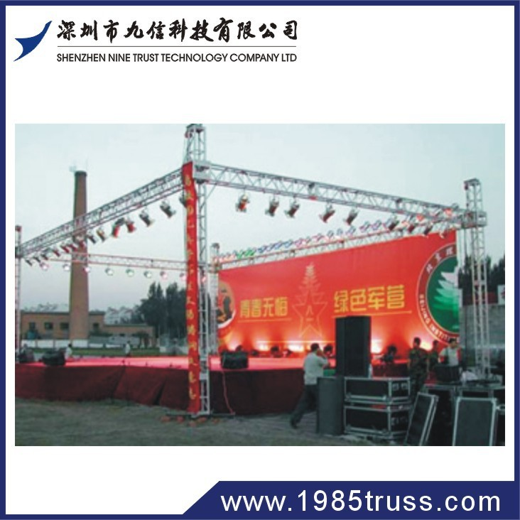 Heavy duty truss aluminum lighting concert truss system with TUV and CE certification