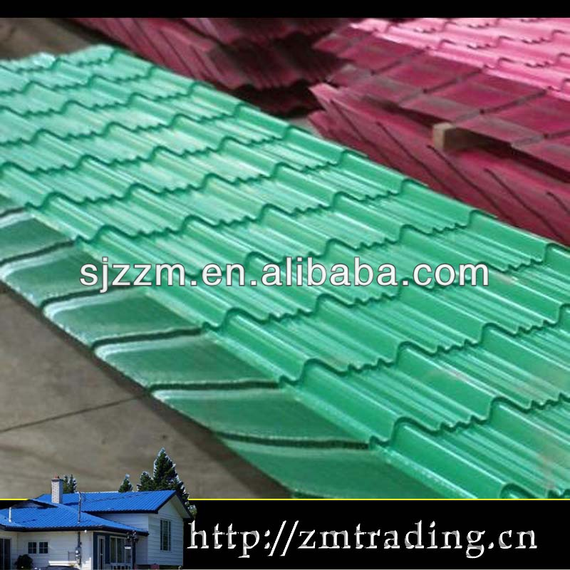 metal roofing shingles lightweight high rib trapezoid metal roofing sheet