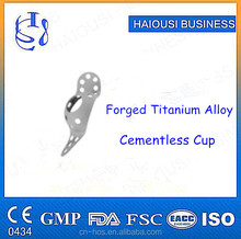 Higher Quality Cementless Cup , Hip Joint Prosthesis Implant , Hip Replacement