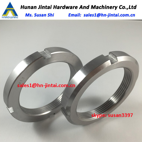 KM 0 to KM 40 Locknuts China Factory Bearing HM HML Series Lock Nuts