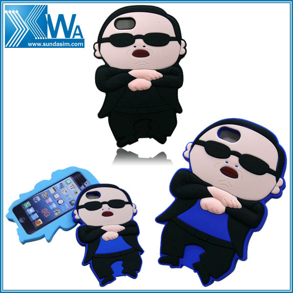 gangnam style for apple iphone 5 of case