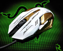Alibaba Hot Sale New Design 6D 3200DPI Optical Wired Gaming Mouse Professional Gaming Mouse GM-814 OEM/ODM/Custom Supported