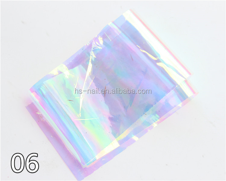 2015 fashionable DIY colored glass pieces,special transfer foil for nail art decoration