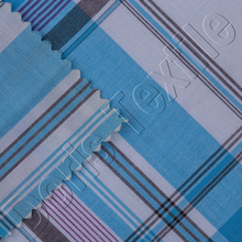 100% COTTON CHECK WOMEN SHIRT FABRIC