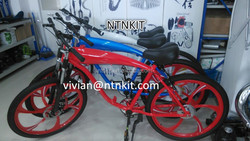 2 cycle Motorized Bike/NTNKIT 2 cycle bicycle/COMPLETE COLORFUL BIKE