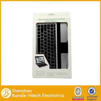 2014 best selling Mobile Wireless Bluetooth Keyboard for Samsung Galaxy Note 10.1