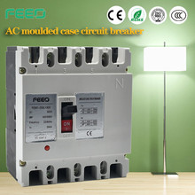 China Supplier 630A 125A gl mcb 3 pole moulded case circuit breakers with overload protection