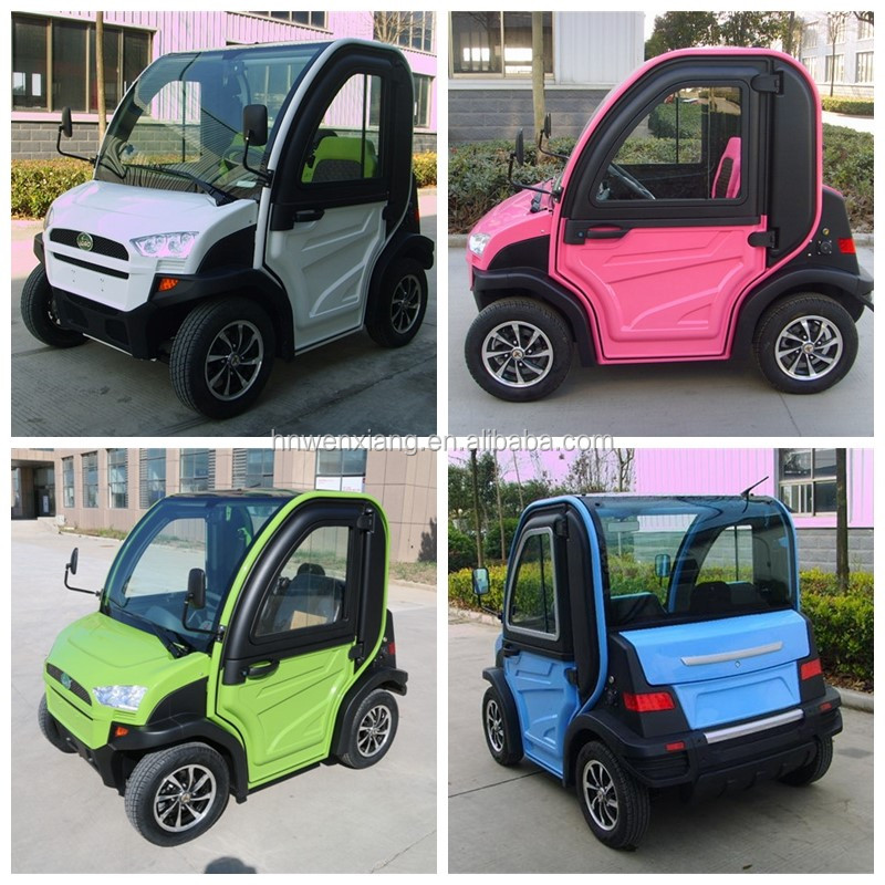 China manufacturer smart mini 4 wheel electric golf cars price