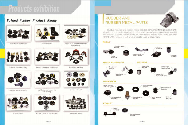 Car Molded rubber&plastic Parts