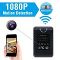 Newest Full HD 1080P AC Adapter Camera Mini Wifi Cam Motion Detection