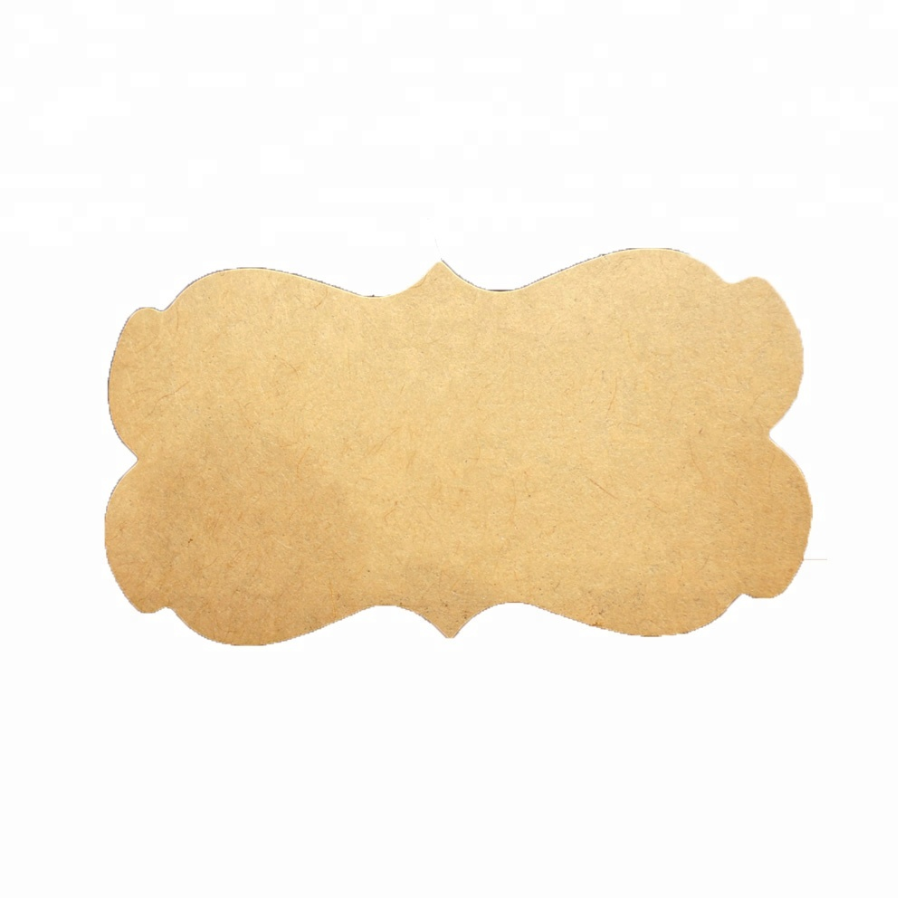 600pcs/pack icraft Blank Kraft Paper Sticker Self Adhesive <strong>Label</strong> Sticker for DIY Handmade Product Seal Sticker Packing <strong>Label</strong>