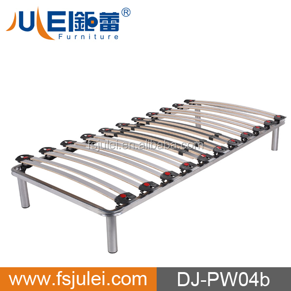 single slat steel bed platform bed DJ-PW04b