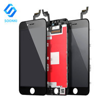 Free Shipping New arrival replacement digitizer glass touch screen for iphone 6s, for iphone 6s display full lcd assembly