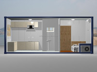 Movable living container house, container office, shipping container hotel room