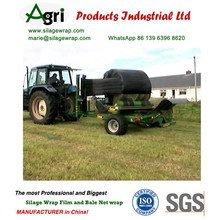 Black/green/white Silage Wrap Film From Chinese Supplier Hay Bale Wrap