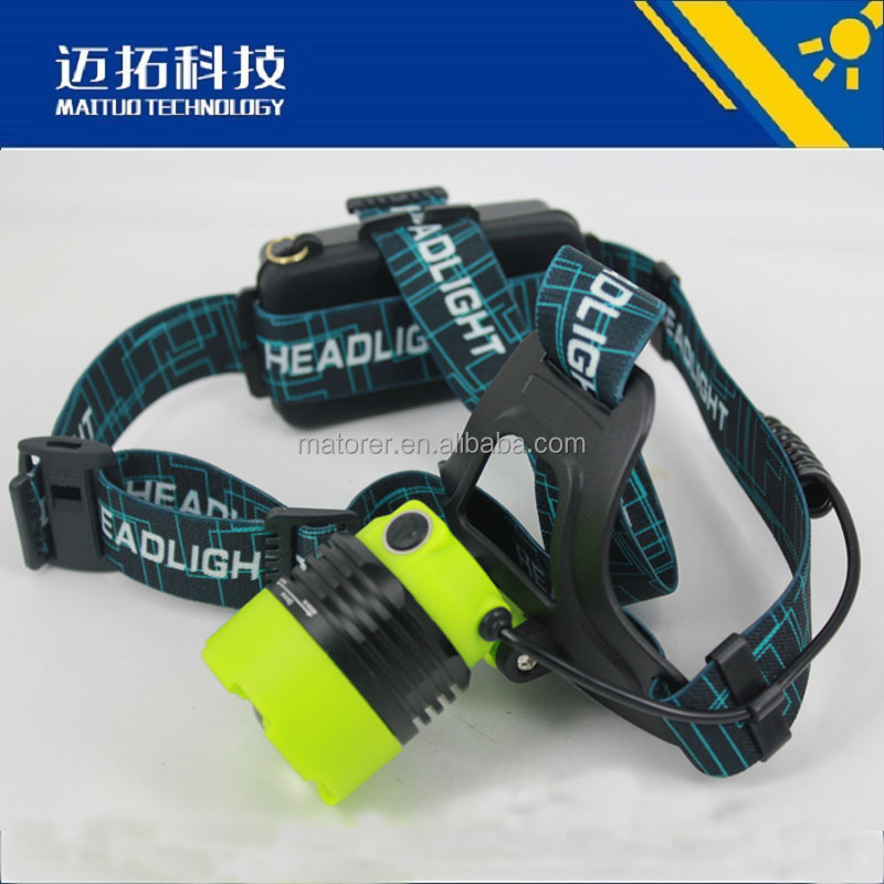 2016 new led headlamp high power aluminium zoom led head lamp