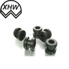 China Silicone rubber grommets black rubber pvc cable grommets / rubber wire stopper