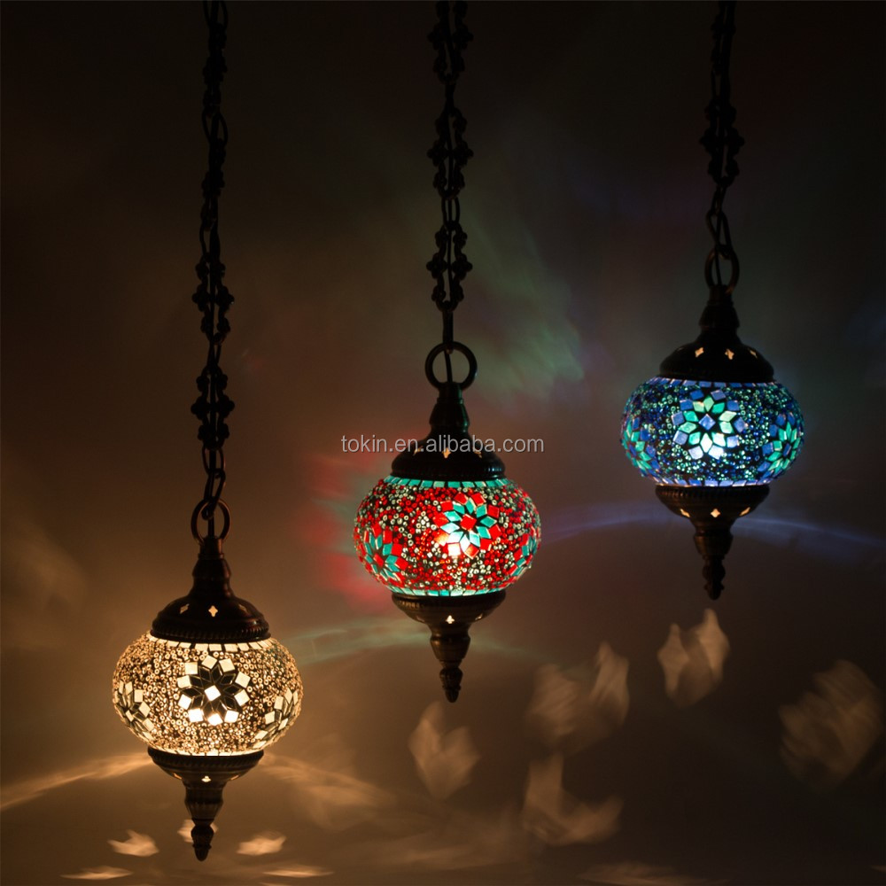 CC1M03 handmade Mosaic Art single Turkish Lamps
