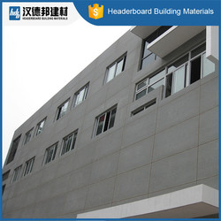 Exterior wall siding panel compressed fiber cement board