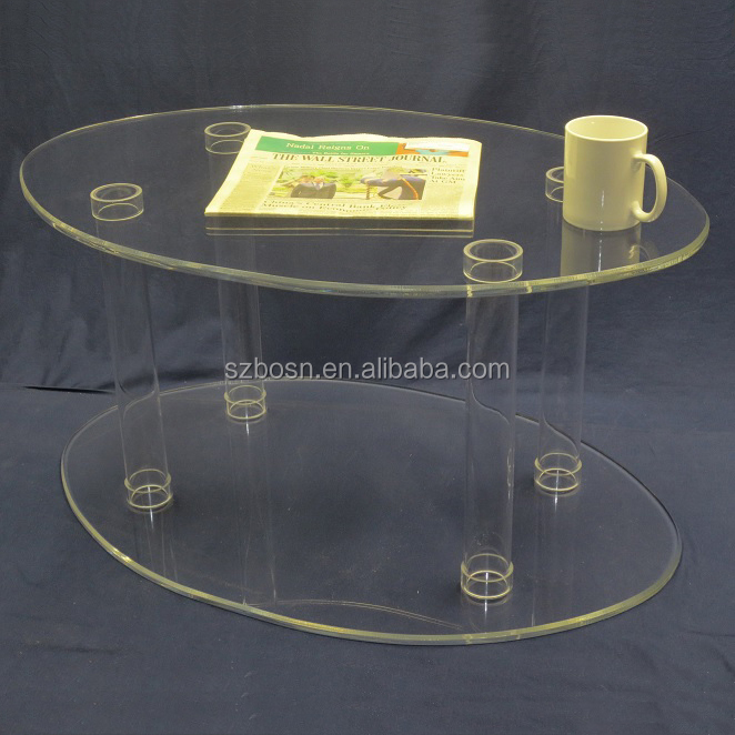 Wholesale Fashion Clear Acrylic coffee Table