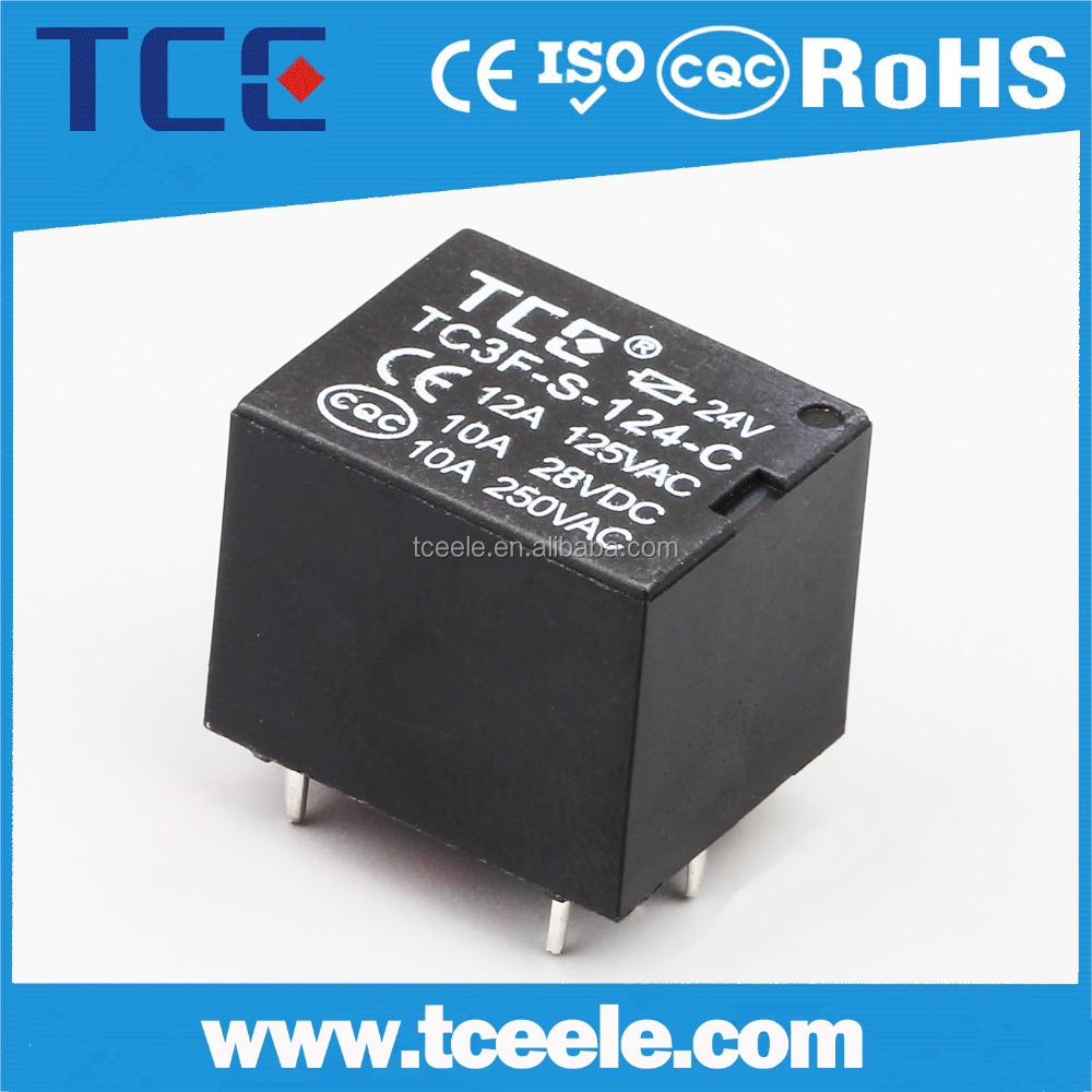 5V 12v 24V PCB relay 5 pin relay JQC-3FF relay