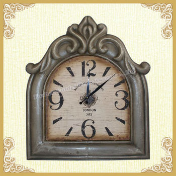 Shabby chic french style unique table clock