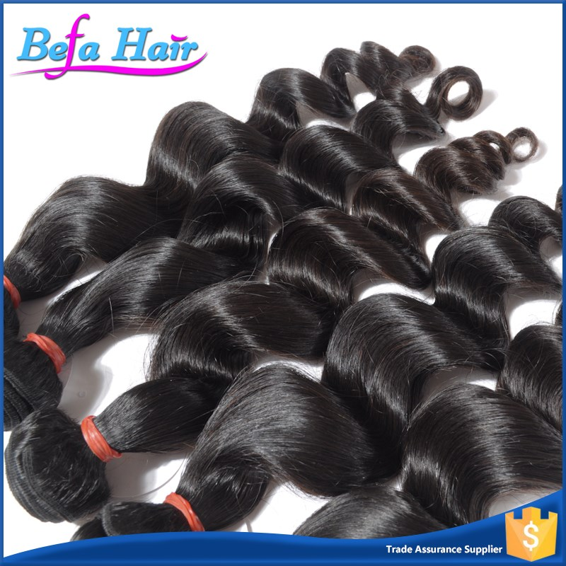 Befa Wholesale 18 Inch Brazilian Loose Deep Wave Hair Weave