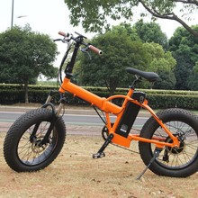 Easy folding fat tyre ebike with brushless motor 250w kit