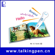 Hot Selling Audio Books with Digital Smart Reading Pen for Kids Learning English