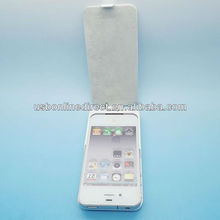 2000mah power battery case power bank charger case for Iphone 4 white
