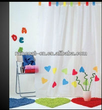 hot-selling peva bath curtain/ peva shower curtain