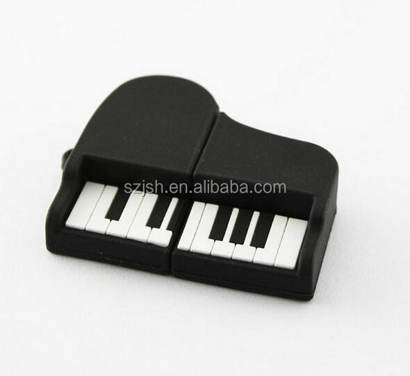 Popular musical instrument usb drive, piano shape usb pen drive