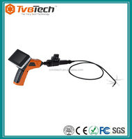 "Handheld 3.5"" TFT LCD Monitor Adjustable Video Inspection Endoscope Snake Scope Pipe Camera 5.5mm Diameter + 1M Cable"