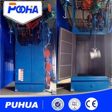 Q37hook shot blasting machine nainly used for surface cleaning of casting equipment