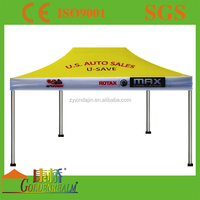 Custom trade event display tent fold 3x4.5m ez up canopy tent,promtion trade show tent
