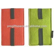 Fancy Mobile Phone Covers - Beautiful Custom Cell Phone Pouch - Cheap Bulk Felt Case for Phone - OEM