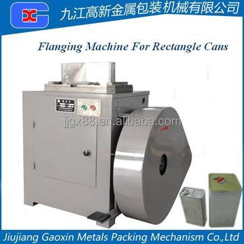Rectangle Can Flanging Machine