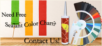 Multiple color RTV special use neutral silicone sealant