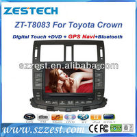 ZESTECH car radio TV dvd radio bluetooth car dvd 8 inch for Toyota Crown car radio