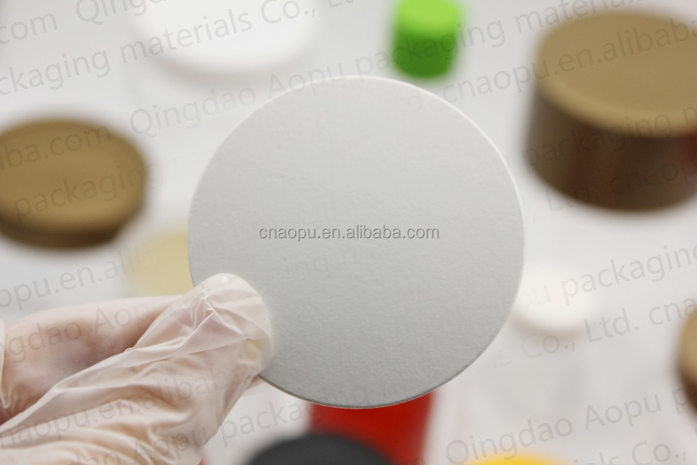Screw Cap Type and Pilfer-Proof Feature Pressure sensitive seal liner for cosmetic jars