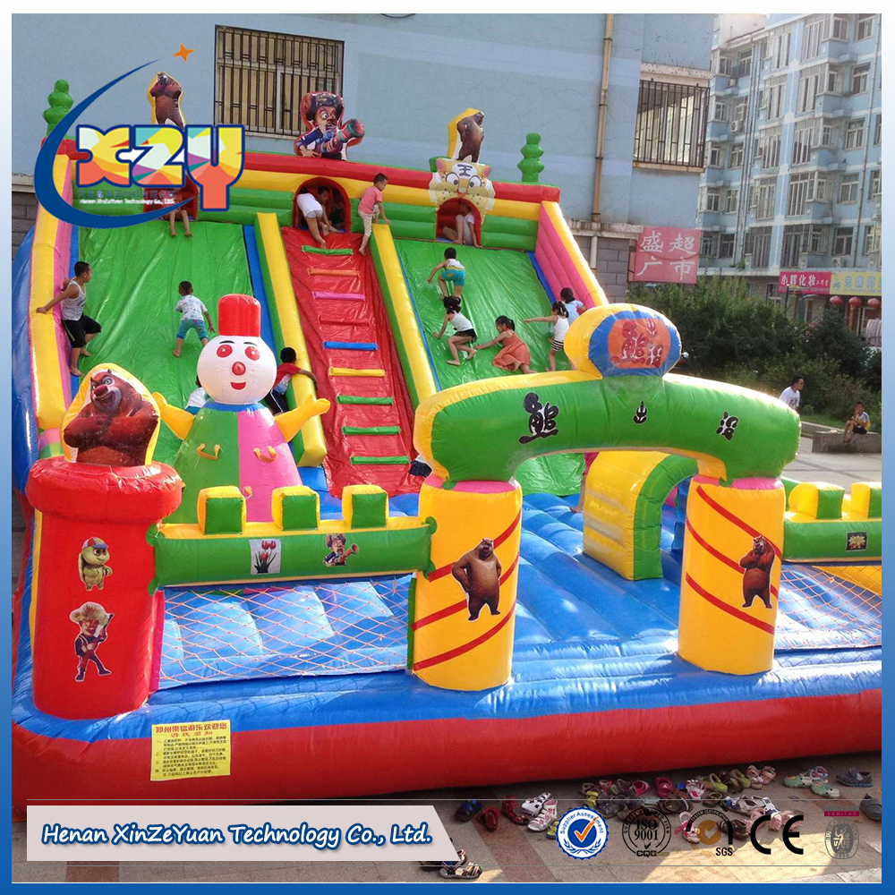 2017 inflatable bouncer house/inflatable air bounce/combo castle games for kids play