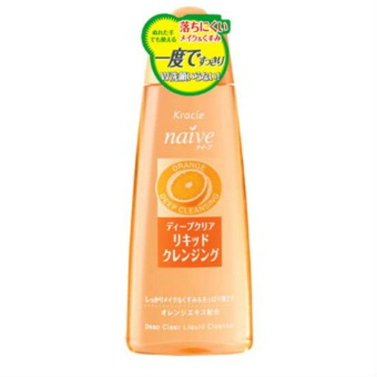 Kanebo Kracie Naive Orange Deep Clear Cleansing Liquid 170ml