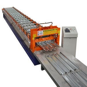 Hot Sale South America Interlocking Galzed Metal Ppgi Steel Roofing Hydraulic Tiles Making Forming Machine