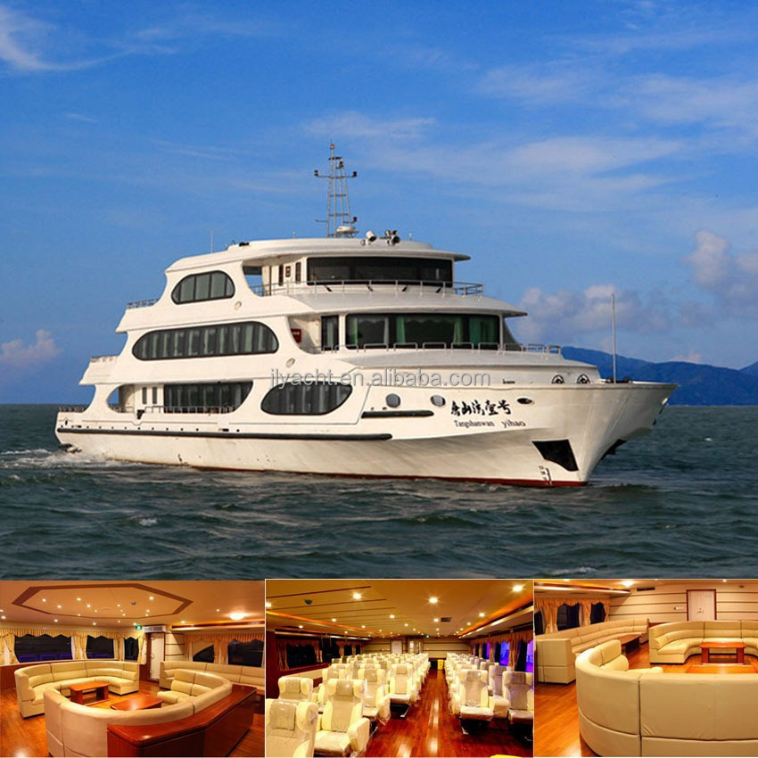 49.8m Passenger Aluminum Yacht For Sale
