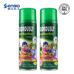 body deet natural mosquito repellent spray with mint smell
