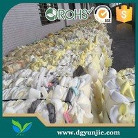 Dry Clean and Free of Eco-friendly Industrial PU Foam Scrap in Bales