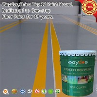 Maydos solvent free industry purpose dustproof epoxy floor paint