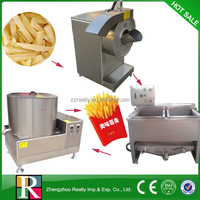 Commercial big yield stainless steel electric automatic potato chips maker