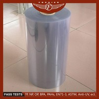 China manufacture Germany machine hight quality thick plastic roll transparent
